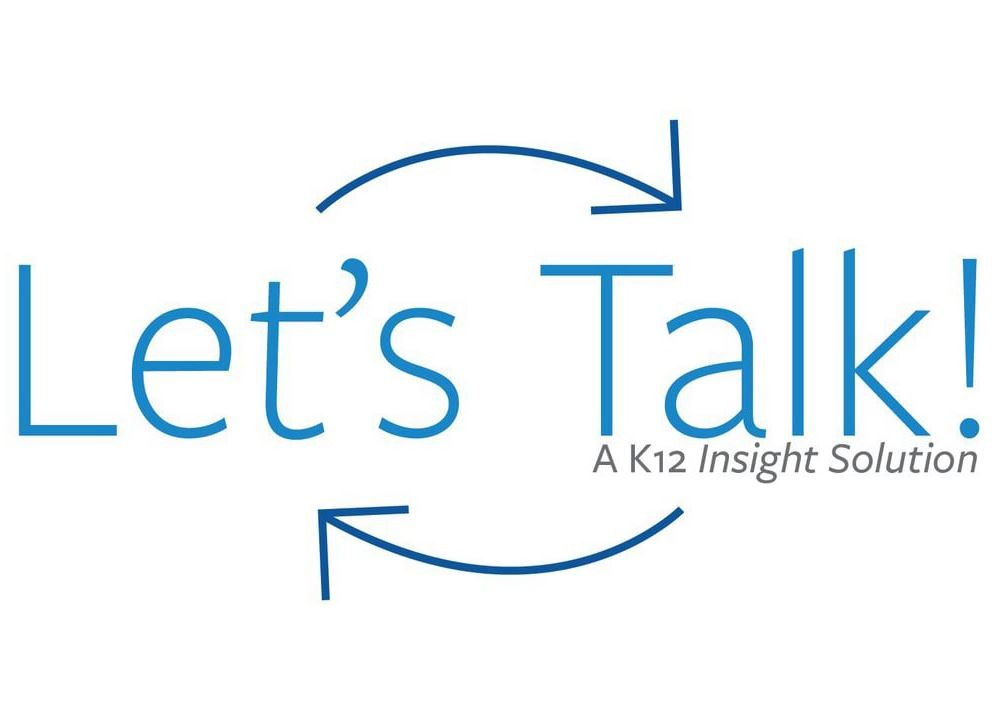 Let's Talk k-12 Insight Logo